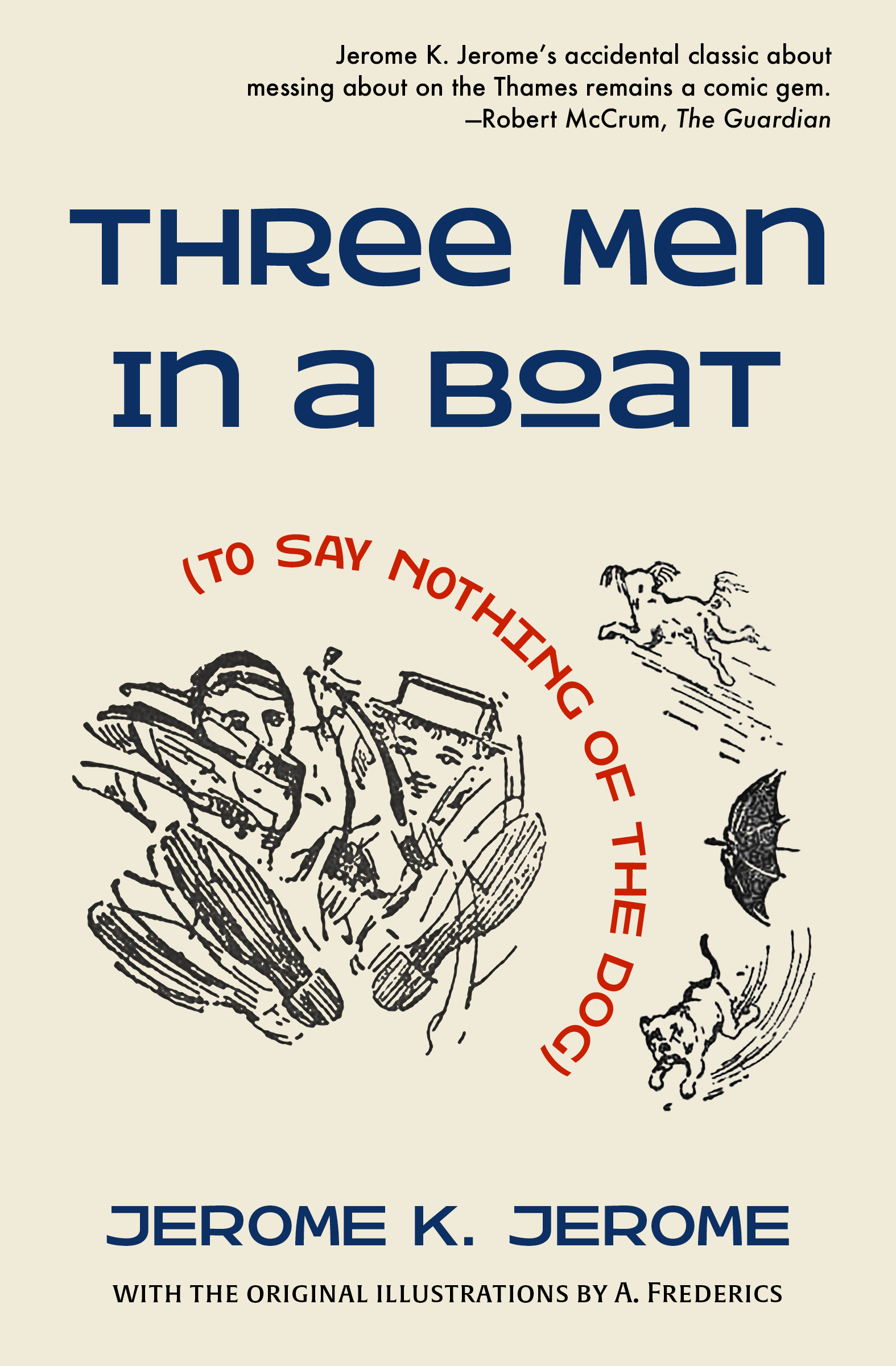 Three Men in a Boat cover