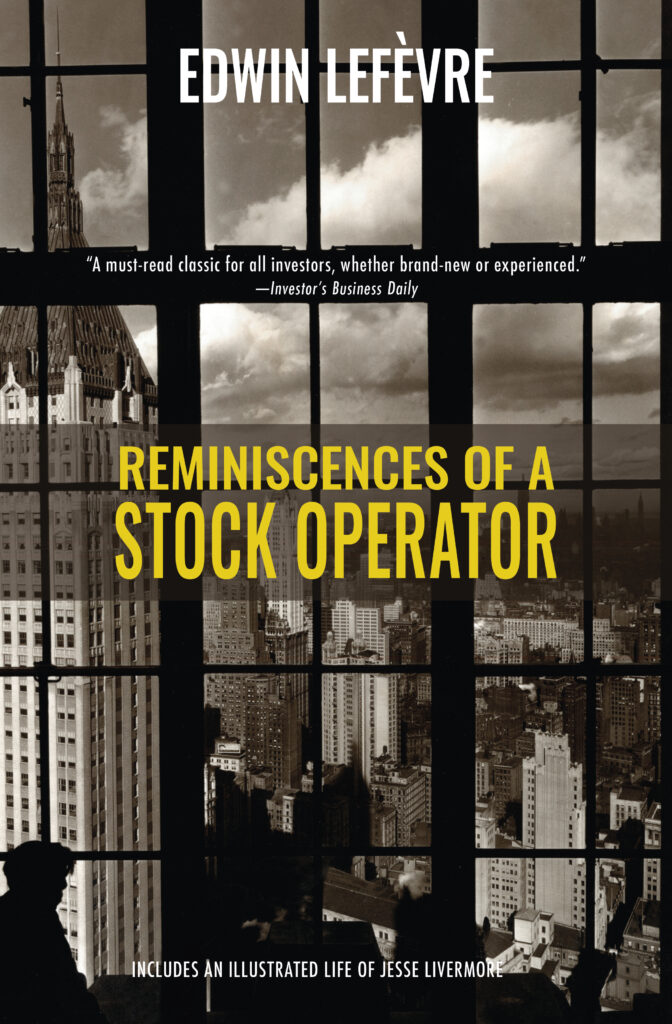 Reminiscences of a Stock Operator cover