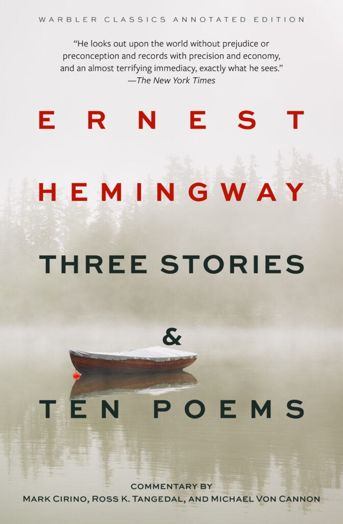 Three Stories & Ten Poems cover